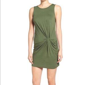 Nordstrom dee elle Green Twist Dress!